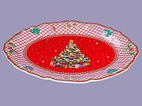 Блюдо Новогодняя елка