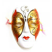 Маска венецианского карнавала из керамики