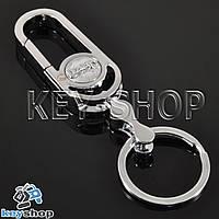 Брелок для авто ключів Джип (Jeep) металевий з карабіном