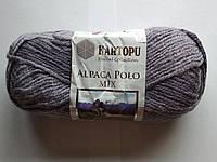 Шерстяная пряжа с альпакой Kartopu Alpaca Polo Mix 2091