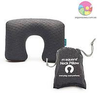 Надувная подушка (серый)
