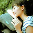 Надувная подушка (серый), фото 3