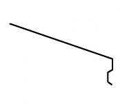 Карнизная планка Акваизол КП-2 (красная)