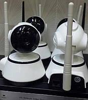 Инновационная беспроводная система видеонаблюдения  NVR KIT 4 Channel PTZ IP Camera CCTV