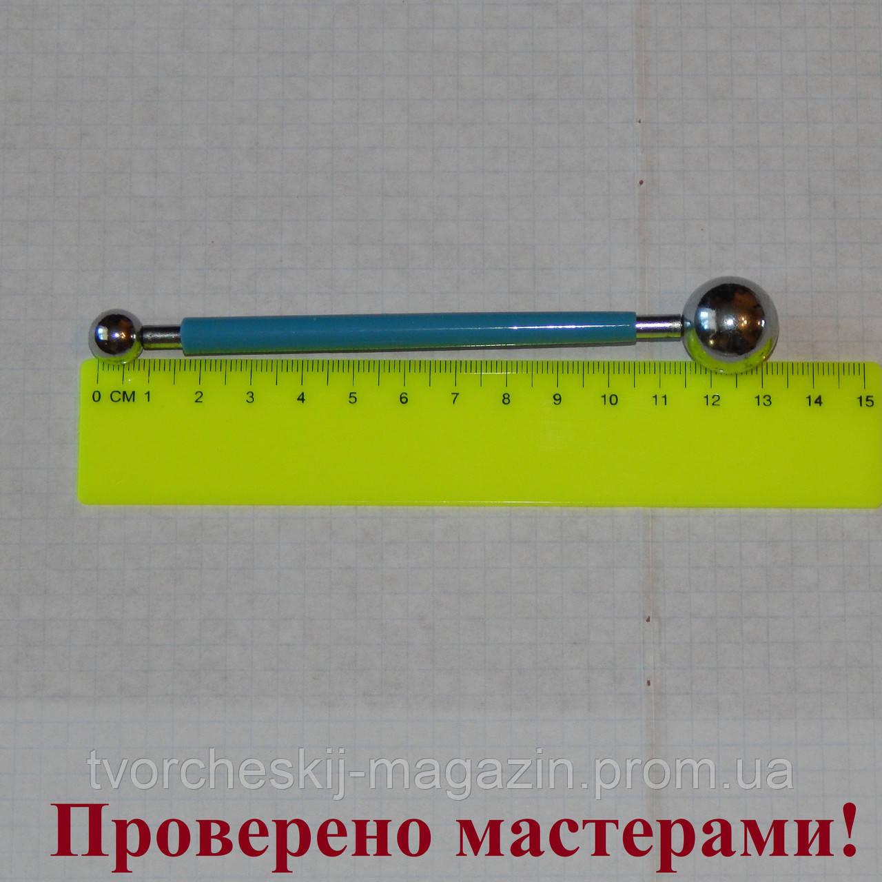 Стек металлический с шариками большой (булька) 19 мм -11 мм