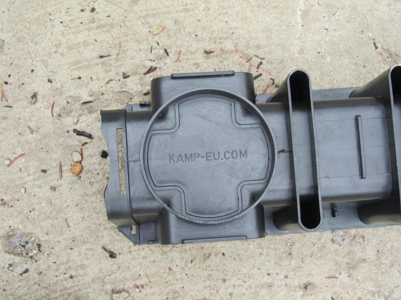 Водоотводный желоб глубокий Kamp-Eu, лоток водоотводный пластиковый