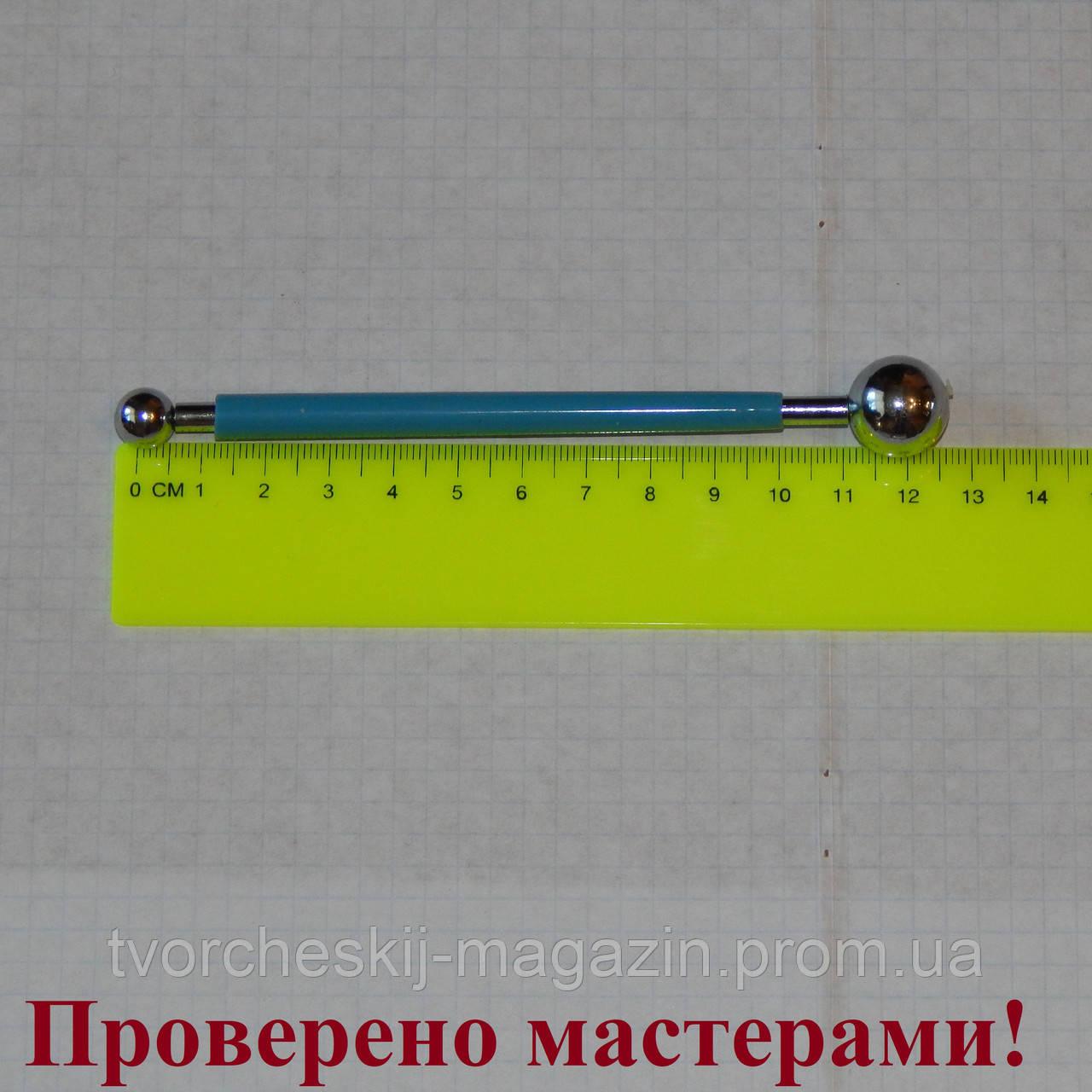 Стек металлический с шариками средний (булька) 16мм - 9 мм