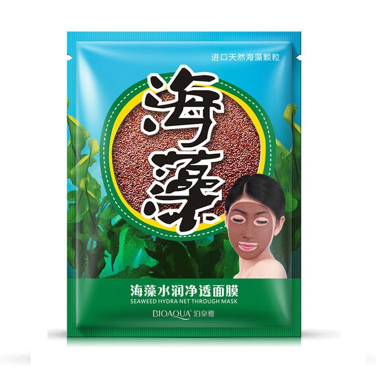 Маска из семян водорослей BIOAQUA Seaweed Hydra Net Through Mask 15 g, фото 1