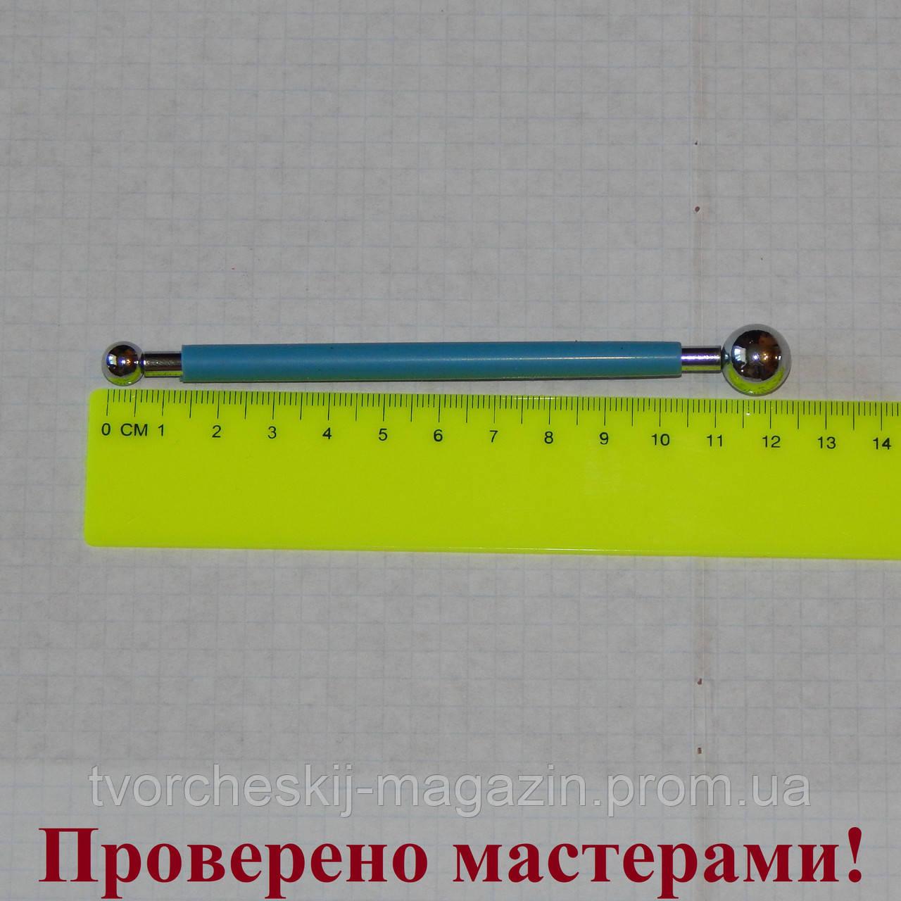 Стек металлический с шариками малый (булька) 13 мм - 8 мм