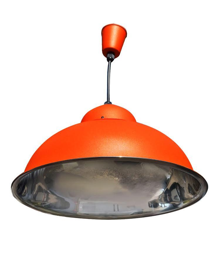 Оранжевый подвесной светильник IP20