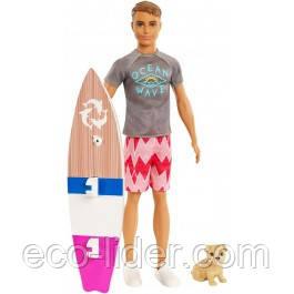 """Набор """"Серфер Кен с любимцем"""" из м / ф """"Barbie Магия дельфинов"""""""