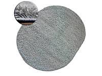 Ковер SHAGGY GALAXY серый овальный 120x170