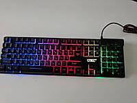 Клавиатура USB KEYBOARD ZYG 800 с подсветкой