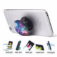 Универсальный держатель-подставка для телефона PopSockets (крепление к смартфону Попсокет, Попсокетс) С6