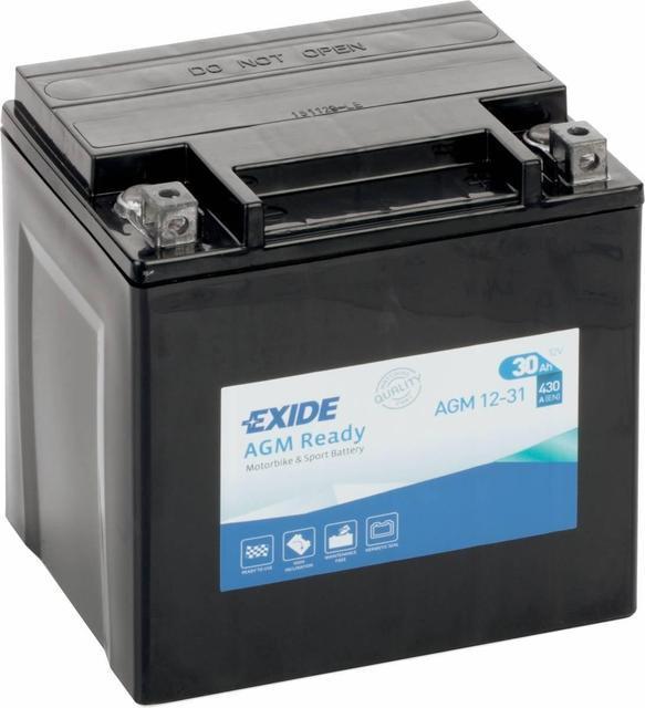 Аккумулятор залитый и заряженный EXIDE SLA12-31 = AGM12-31