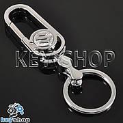 Металлический брелок с карабином для авто ключей Сузуки (Suzuki)
