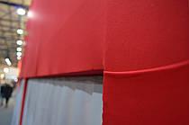 Ткань стрейч для стен на конструкции