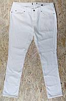 Женские джинсы белые стрейчевые осень весна от tcm Tchibo наш 50