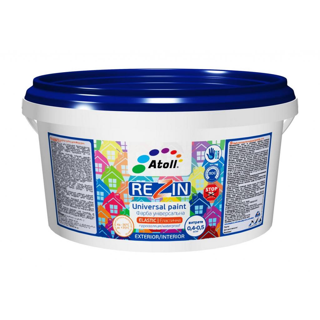SF-16-2.6 кг Rezin високоеластична гідроізоляційна фарба