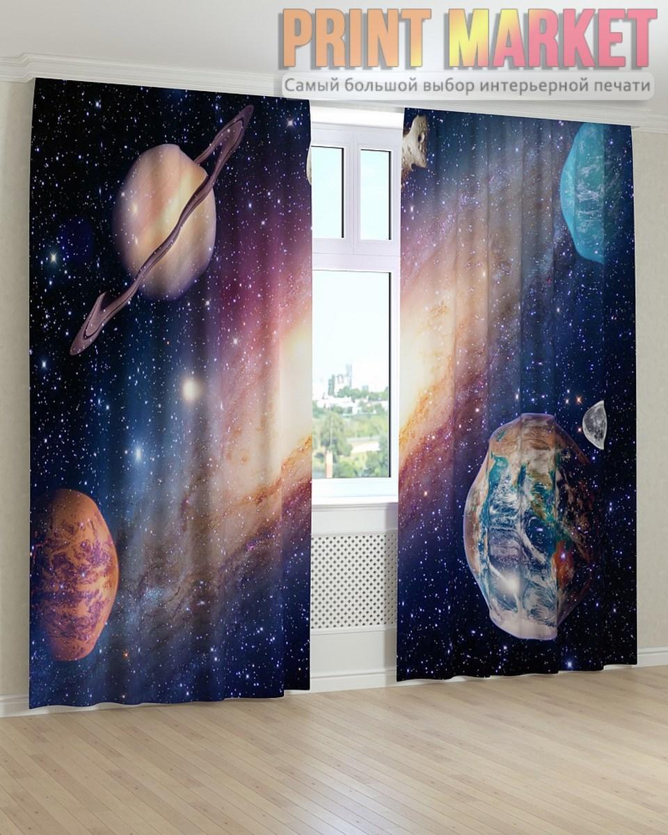 Фото шторы планеты и звезды