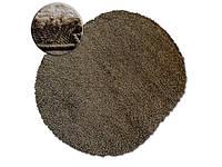 Ковер SHAGGY GALAXY коричневый овальный 120x170