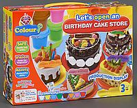 Набор теста для лепки «Мой торт ко Дню Рождения»  8210 ***