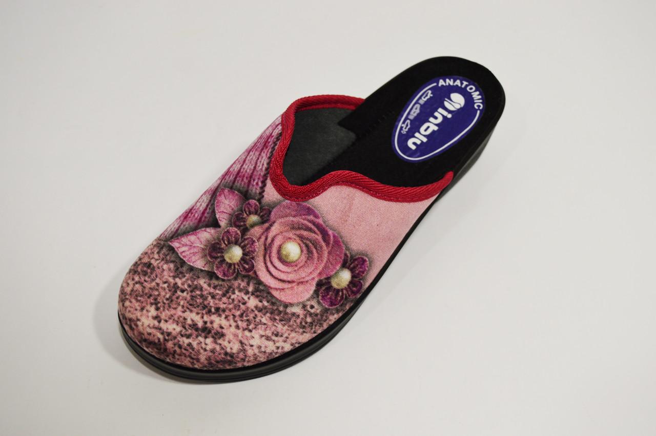 Тапочки розовые женские Inblu LU6V