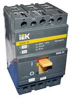 Автоматический выключатель ВА88-32 3Р 25А 25кА ИЭК, SVA10-3-0025