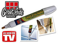 Карандаш-маркер Grout-Aide Grout & Tile Marker для обновления межплиточных швов