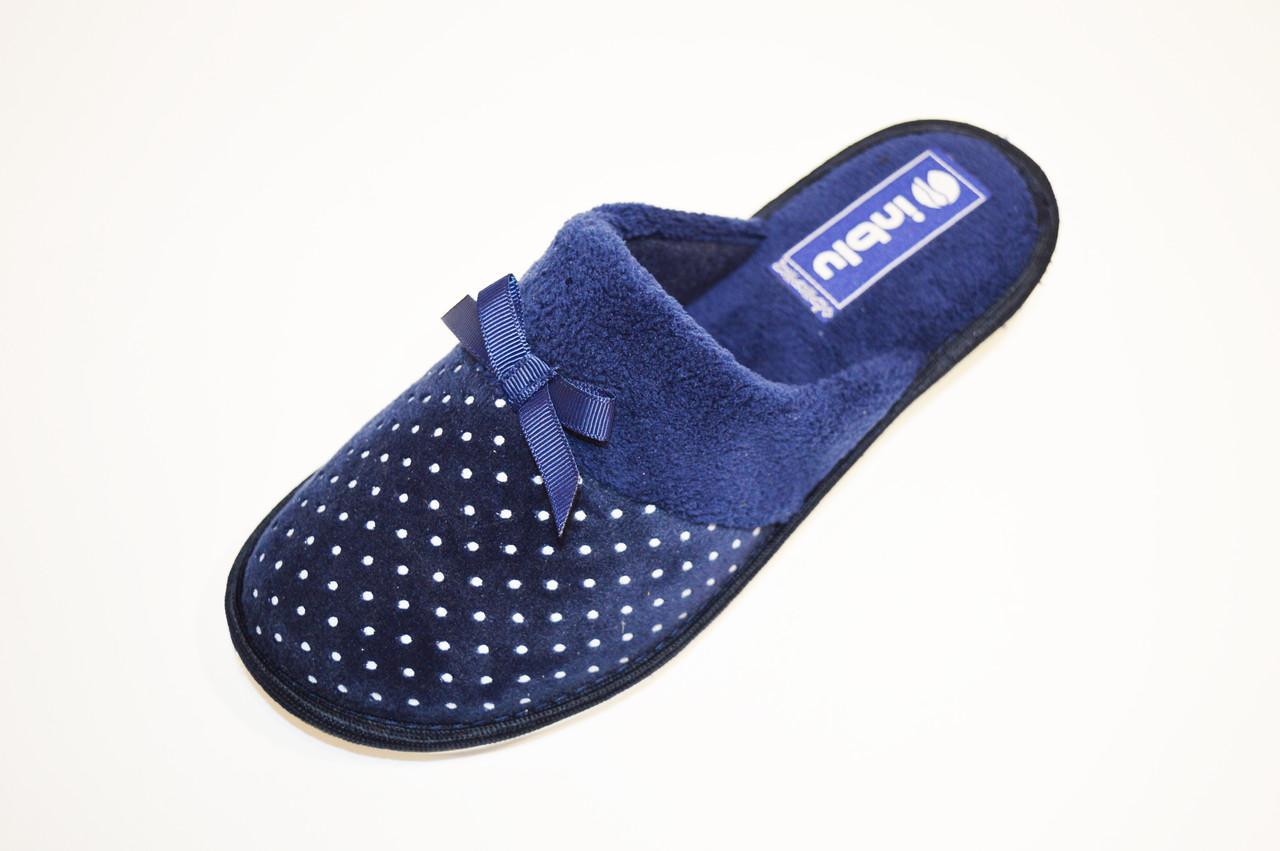 Синие женские тапочки Inblu CI4V
