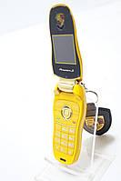 Детский кнопочный телефон раскладушка Porshe Panamera S  Duos ( F-9 )