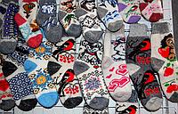 Женские носки из овечьей шерсти - разные окрасы