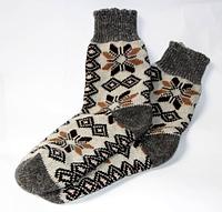 Мужские зимние носочки из овечьей шерсти