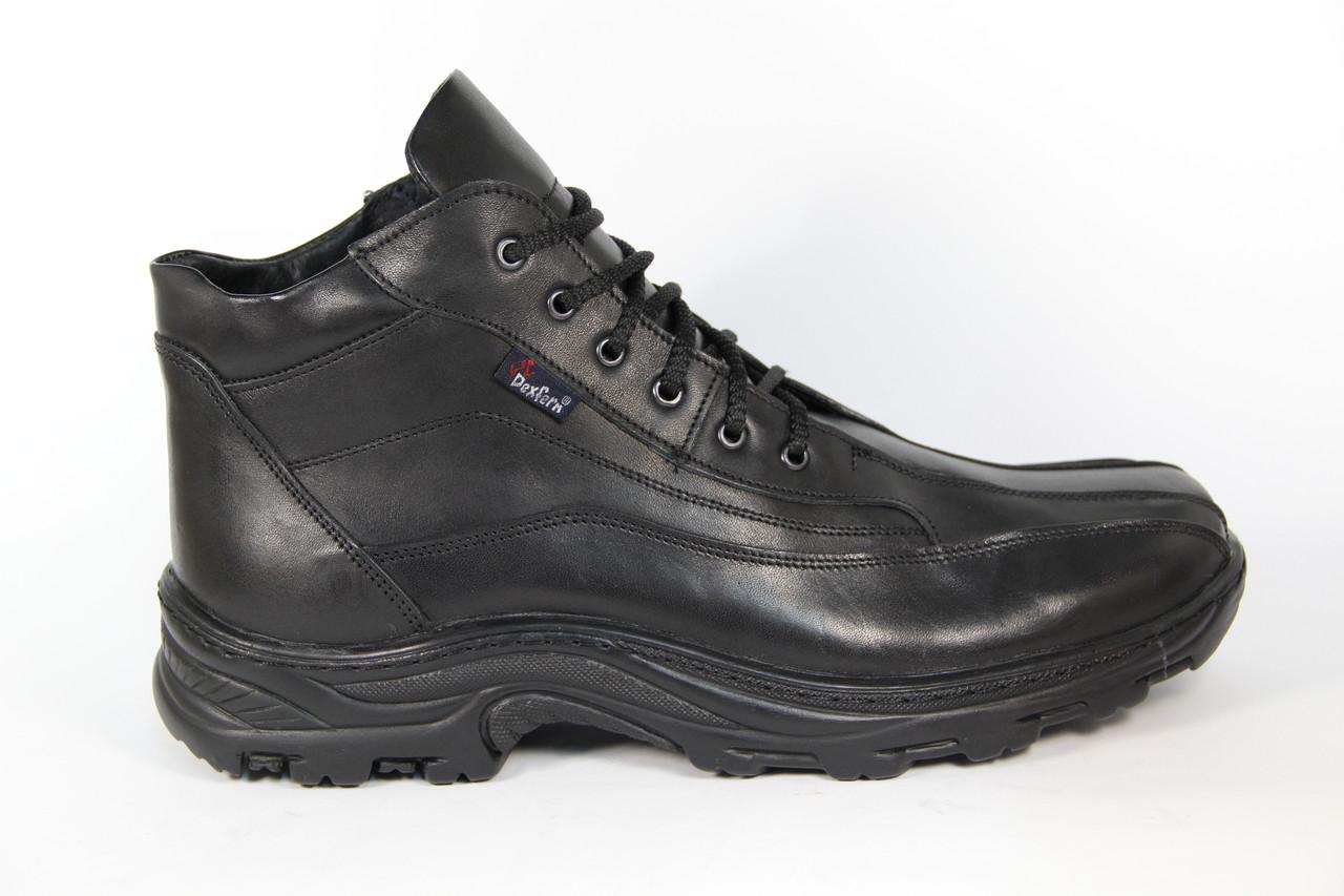 Мужские ботинки из натуральной кожи DF POLO