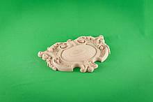 Код КА 2. Резной деревянный декор для мебели. Картуш