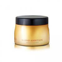 Маска для блондированных и поврежденных волос T-LAB Professional Blond Ambition Treatment 250 ml