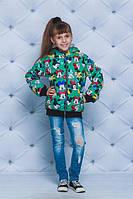 Куртка для девочки с Микки Маусом