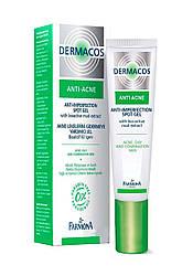 Гель для локального применения Farmona Dermacos Anti-Acne, 15 ml.