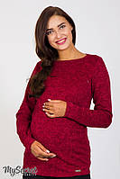Джемпер Elanor для беременных и кормящих, красный