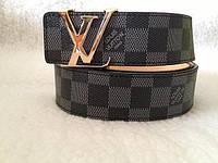 Стильный брендовый Ремень Louis Vuitton Black