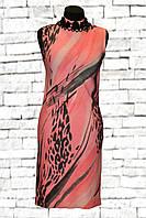 Летнее коктейльное платье-футляр