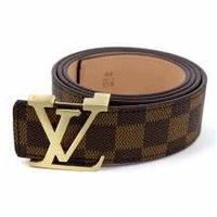 Стильный брендовый Ремень Louis Vuitton Brown