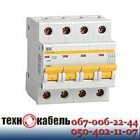 Автоматический выключатель IEK ВА47-29М 4P 4,5 кА х-ка С