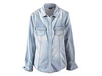 Женская джинсовая рубашка деним Esmara