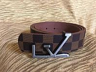 Стильный брендовый Ремень Louis Vuitton Brown Casual