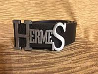 Стильный брендовый Ремень Hermes Black