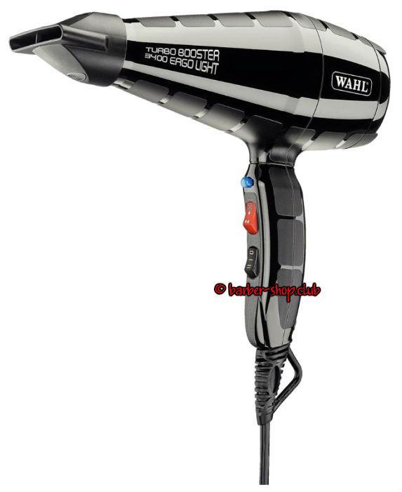 Професійний фен для волосся Wahl 4314-0470 Turbo Booster ErgoLight 2400W