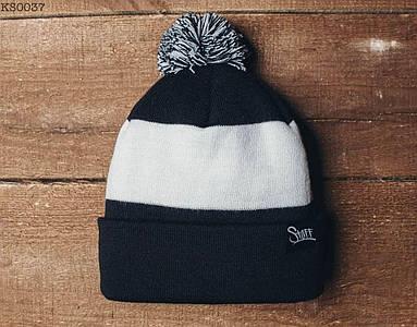 Зимняя шапка Staff с помпоном KS0037