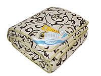Теплое одеяло «Аляска бязь» шерсть 140х205