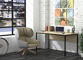 Стол письменный в стиле лофт Лофт L3p Loft Design, фото 3